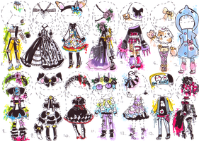 CLOSED-OUTFIT adopt mix by Guppie-Adopts