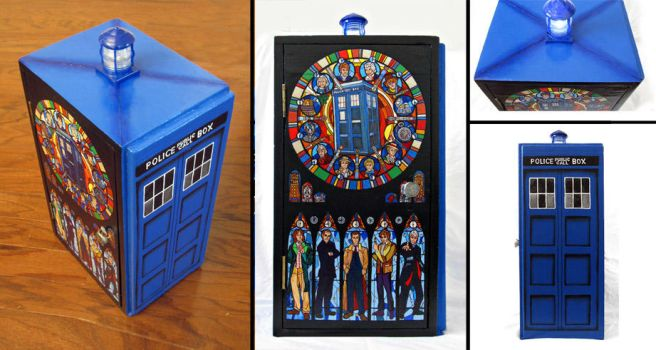 Doctor Who - Curio-Cabinet by RFabiano
