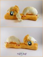 AppleJack Plushie by SailorMiniMuffin