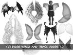 Wings and Things Set for 7.0 by newdoll-stock