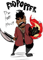 The Axe Mage by RodPopper