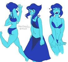 really old lapis drawings by Mokeia