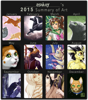 2015 Summary of Art by ashkey