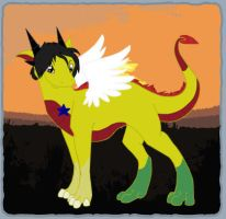Adric Dragon with Star by AddieFanclub