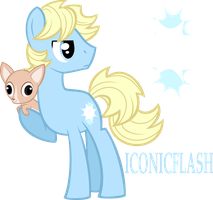 MLP OC - Iconicflash by Looji