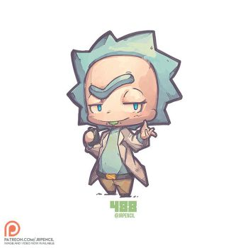 488 - Rick by Jrpencil