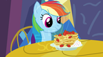 Rainbow Dash Eats Pancakes (Animation Preview) by AnScathMarcach