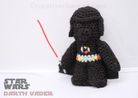 Darth Vader Crochet by bicyclegasoline