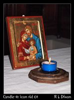 Candle and Icon rld 01 dasm by richardldixon