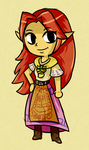 Wind Waker Malon by ellenent