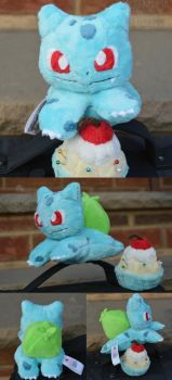 001 Bulbasaur by PlushPrincess