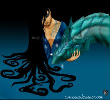 Water Dragon by Asenceana
