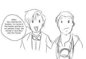 Doctor and Craig by EmzieBee