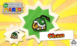 New Paper Mario: Chan by Nelde