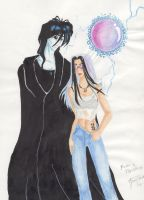 Raven and Morpheus by tahara