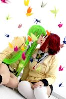 Code Geass: flying cranes by chibinis-chan