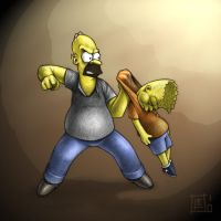 The Simpsons by leonardo86