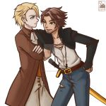Gaia Online : Mason and Alec by HitokiriChibi