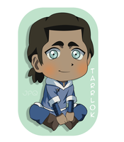 Chibi Baby Tarrlok by justplainquirky