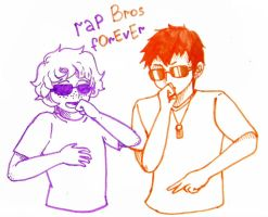 Rai and Gil - rap bros.D by GilUly