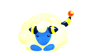 Pokemon December Challenge: Mareep by Draken-leader
