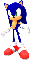 Sonic the Hedgehog (Sonic Adventure 2006) by Jogita6