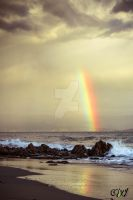 Rainbow after storm by smaccks