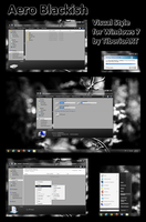Aero Blackish for Windows 7 by TiborioART
