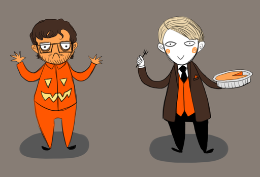 Have a Hannibal Halloween by Rin8