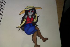 Adventure Time : Marceline by Autumn-thefox