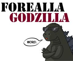 Forealla Godzilla by ShadowMaginis