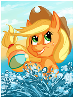 SPP 2 - Applejack by Spiralchasm