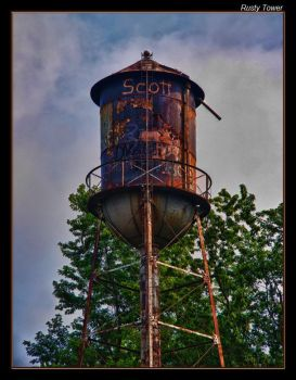 Rusty Tower by boron