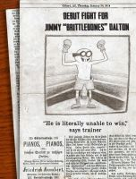 Jimmy Brittlebones Dalton by JimCaspian