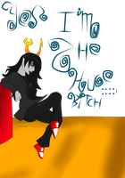 Vriska the huge 8itch by MsGraziosa