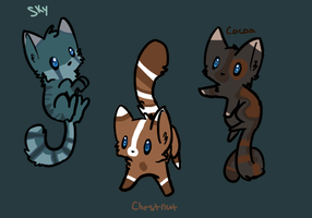 Cat Adopts :CLOSED: by ForgedRains