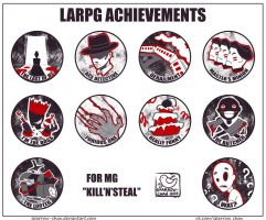 LARPG achievements by sparrow-chan