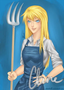 Harvest Moon: Claire by Pleadin18