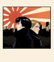 Sherlock in Tokyo by mortmere