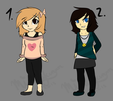 human adoptables changed price yeeees by Mindy-cupcake