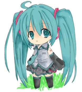 First Miku~ by dhiolawliet