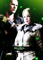 Jake and Sherry + Green by AlbertXExcellaLover