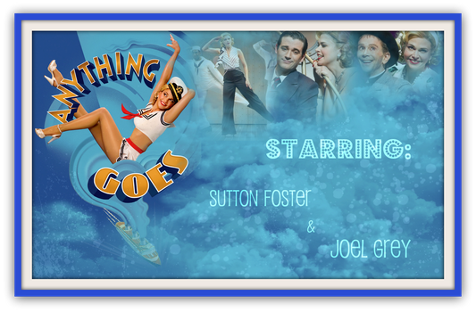 Anything Goes Poster by GabMouse
