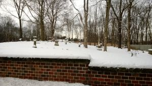 graveyard snow by AriaGrill