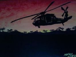 black hawk helicopters by lopezgdlp