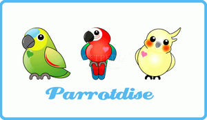 Parrotdise Icons by minercia