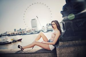 London Eye by jfphotography