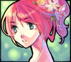 Flowery Hair by junsui
