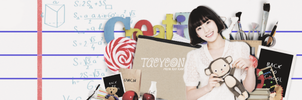 Taeyeon - The finally Art before Back To School by Rio-taeyeon