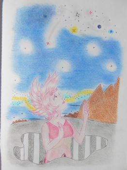 Pink Diamond by Snails-flowers
